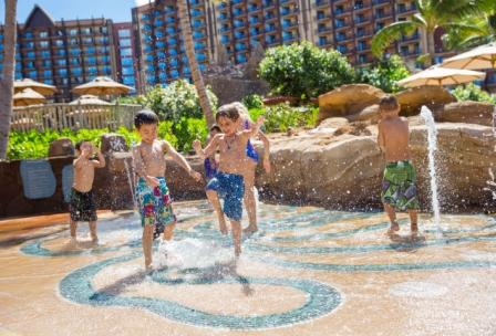 aulani kids pool area